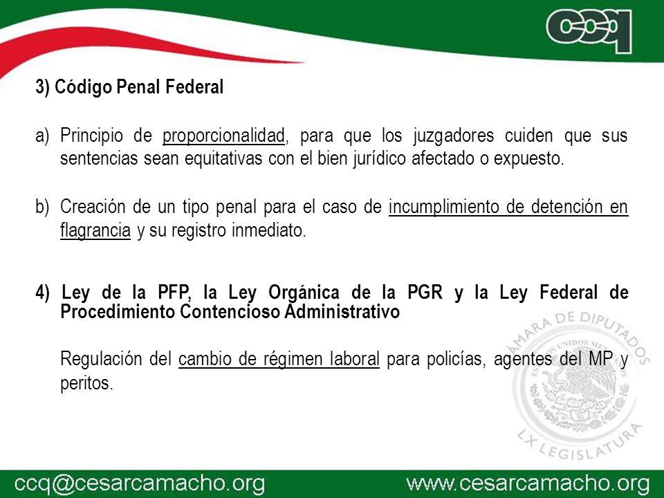 3) Código Penal Federal