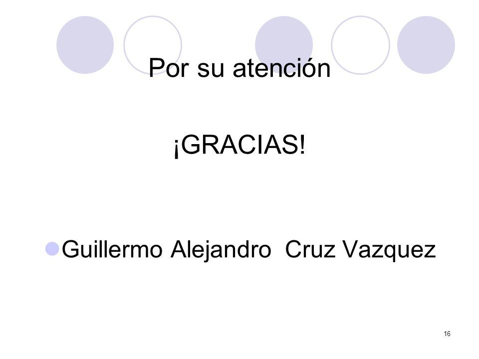 Guillermo Alejandro Cruz Vazquez