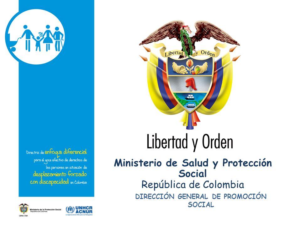 DIRECCIÓN GENERAL DE PROMOCIÓN SOCIAL