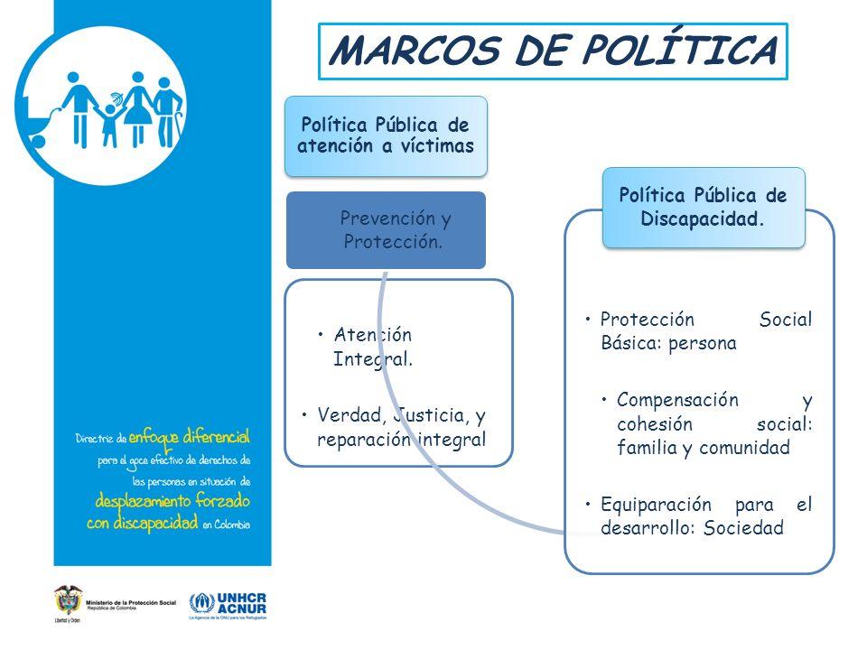 Política Pública de atención a víctimas