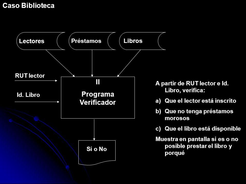 II Programa Verificador