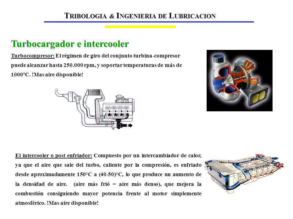 Turbocargador e intercooler