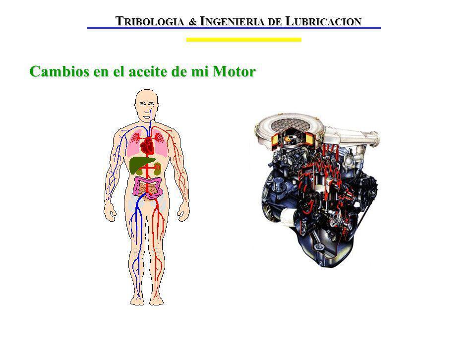 TRIBOLOGIA & INGENIERIA DE LUBRICACION