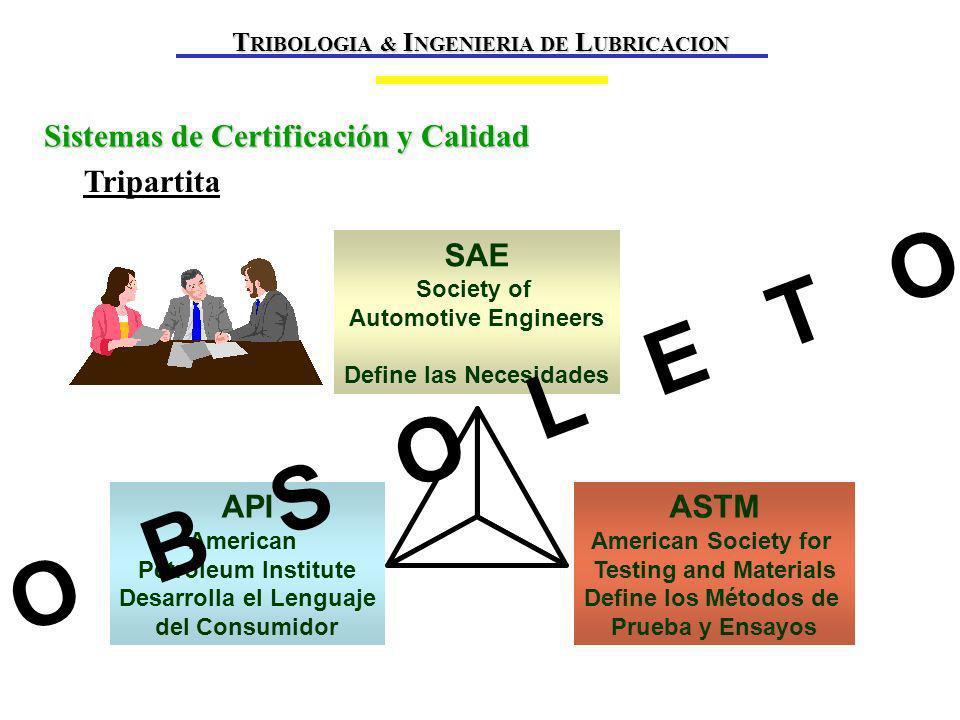 TRIBOLOGIA & INGENIERIA DE LUBRICACION Define las Necesidades