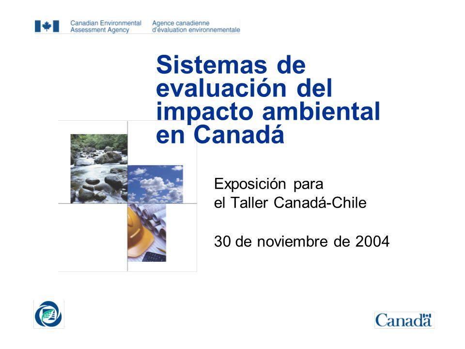 Sistemas de evaluación del impacto ambiental en Canadá