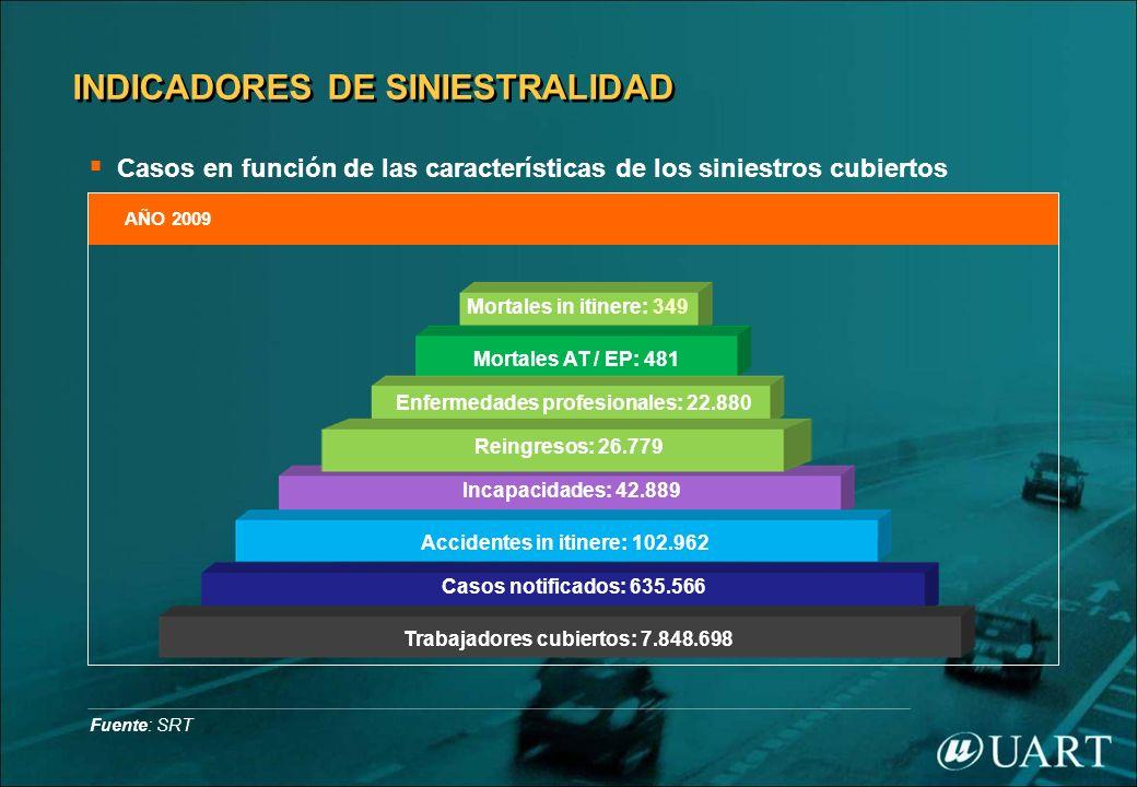 INDICADORES DE SINIESTRALIDAD