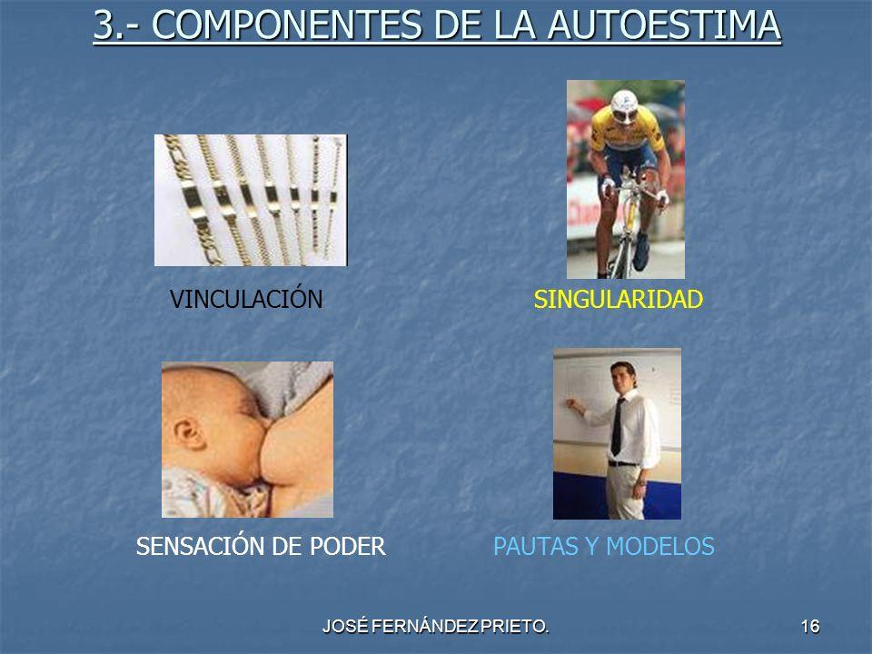 3.- COMPONENTES DE LA AUTOESTIMA