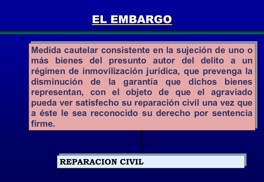 EL EMBARGO