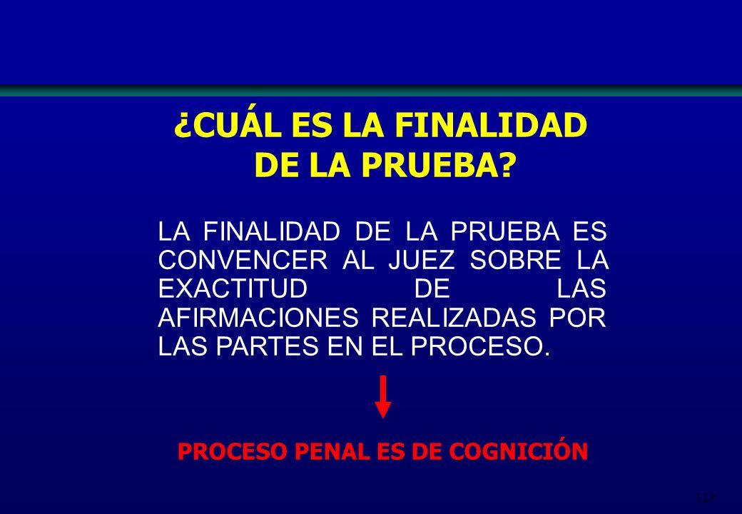 PROCESO PENAL ES DE COGNICIÓN