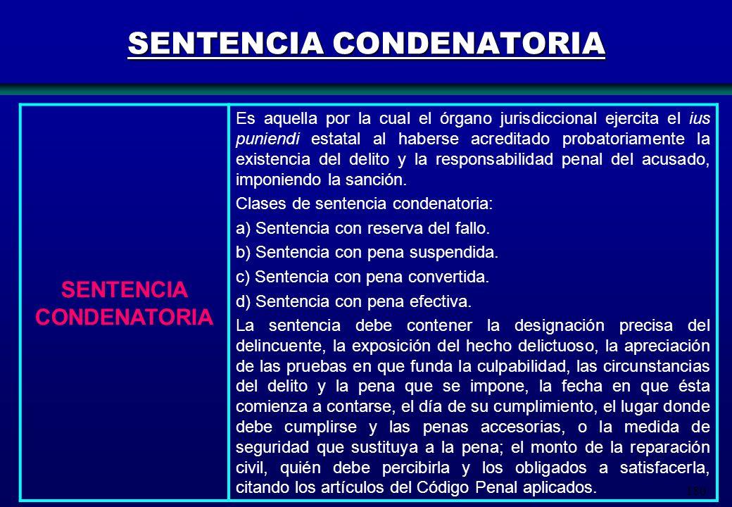 SENTENCIA CONDENATORIA