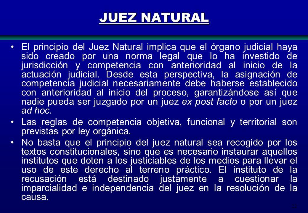 JUEZ NATURAL
