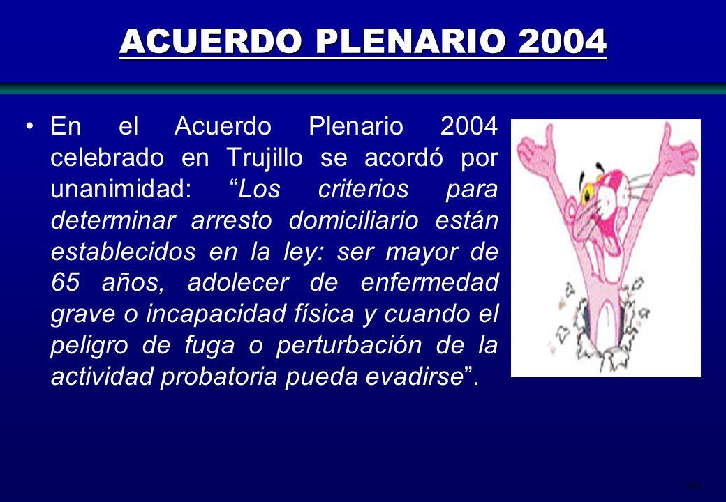 ACUERDO PLENARIO 2004