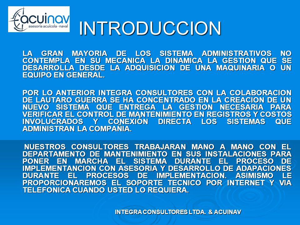INTEGRA CONSULTORES LTDA. & ACUINAV