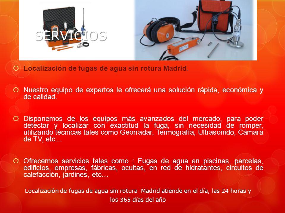 Reparaciones dario tlf ppt descargar for Fugas de agua madrid