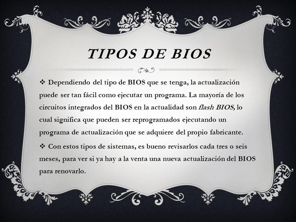 Tipos de BIOS