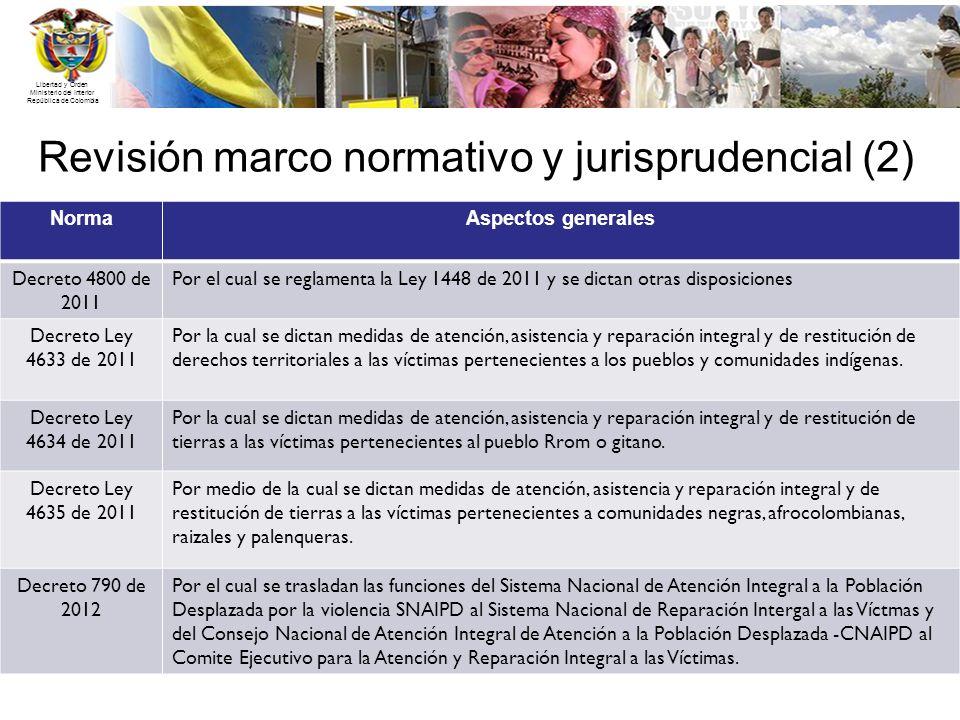 Revisión marco normativo y jurisprudencial (2)