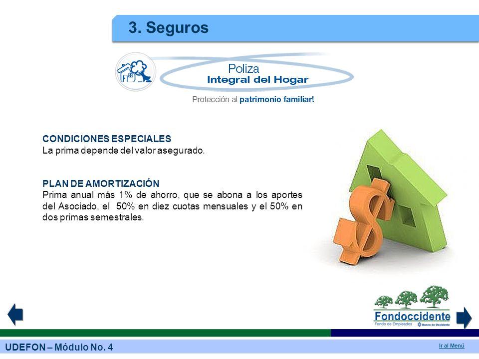 3. Seguros CONDICIONES ESPECIALES