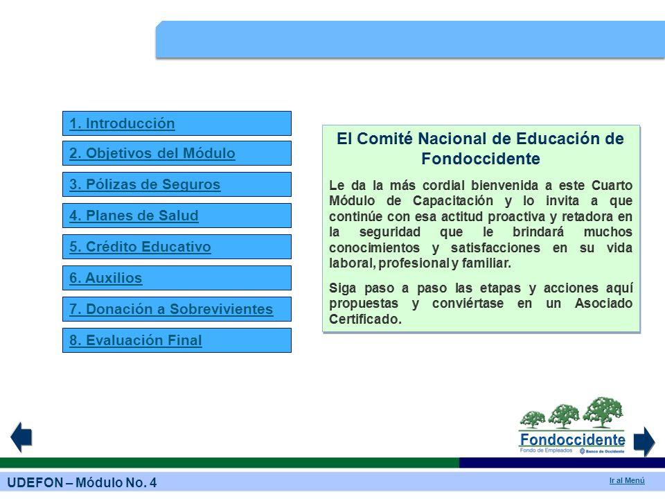 El Comité Nacional de Educación de Fondoccidente