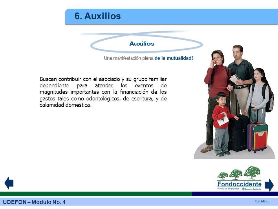 6. Auxilios