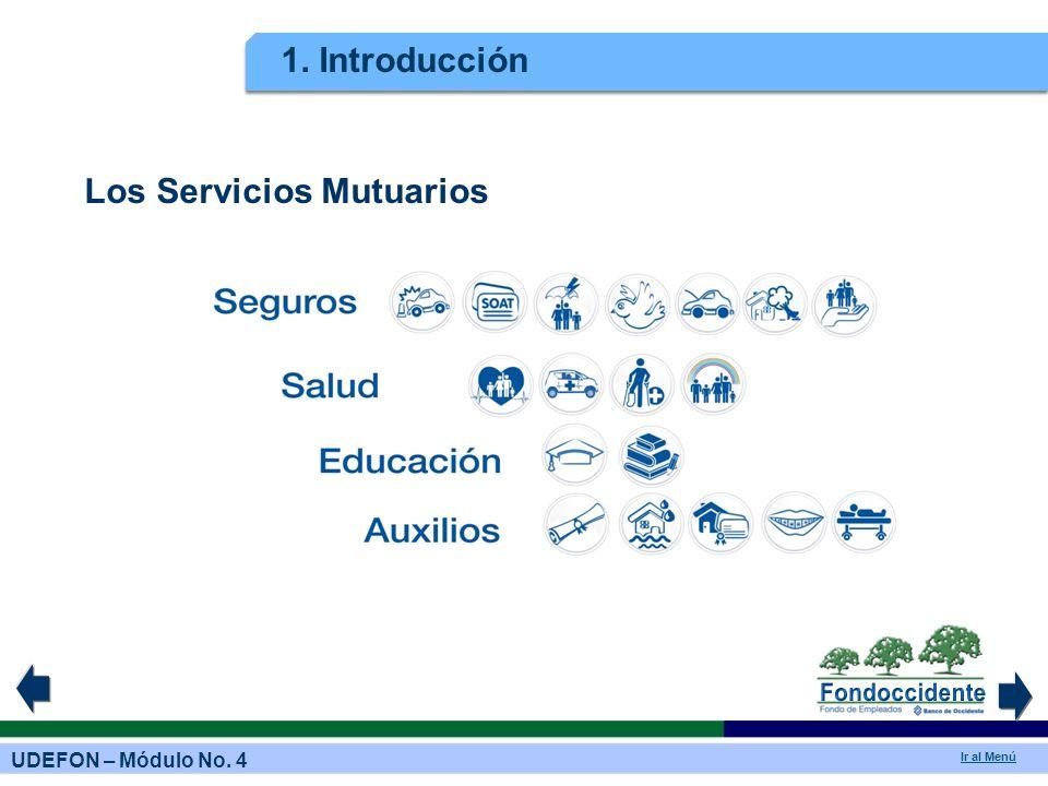 1. Introducción Los Servicios Mutuarios