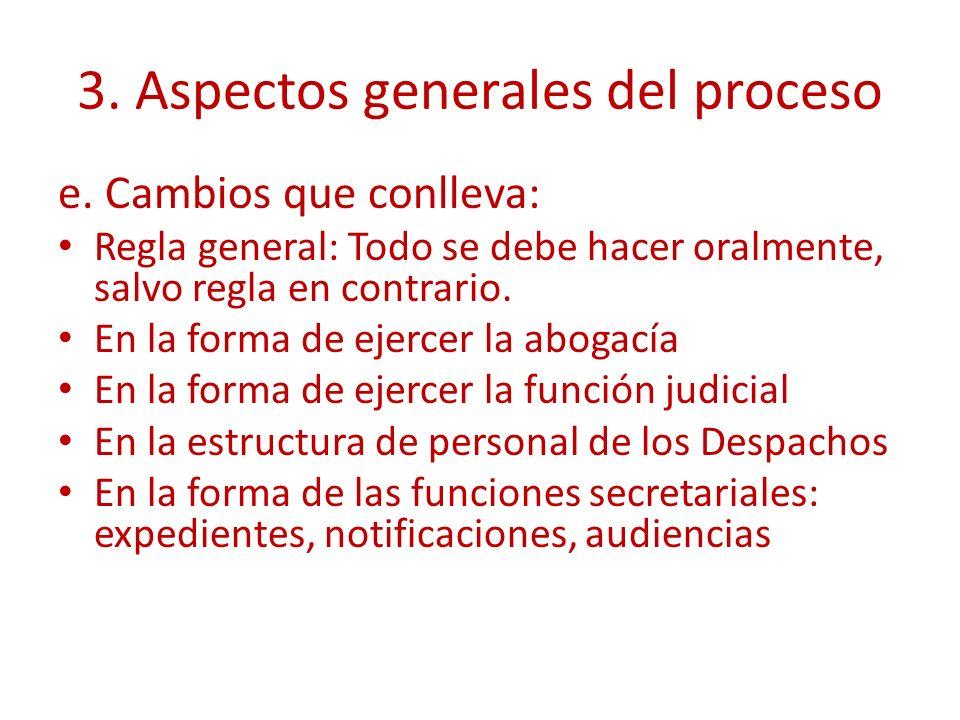 3. Aspectos generales del proceso