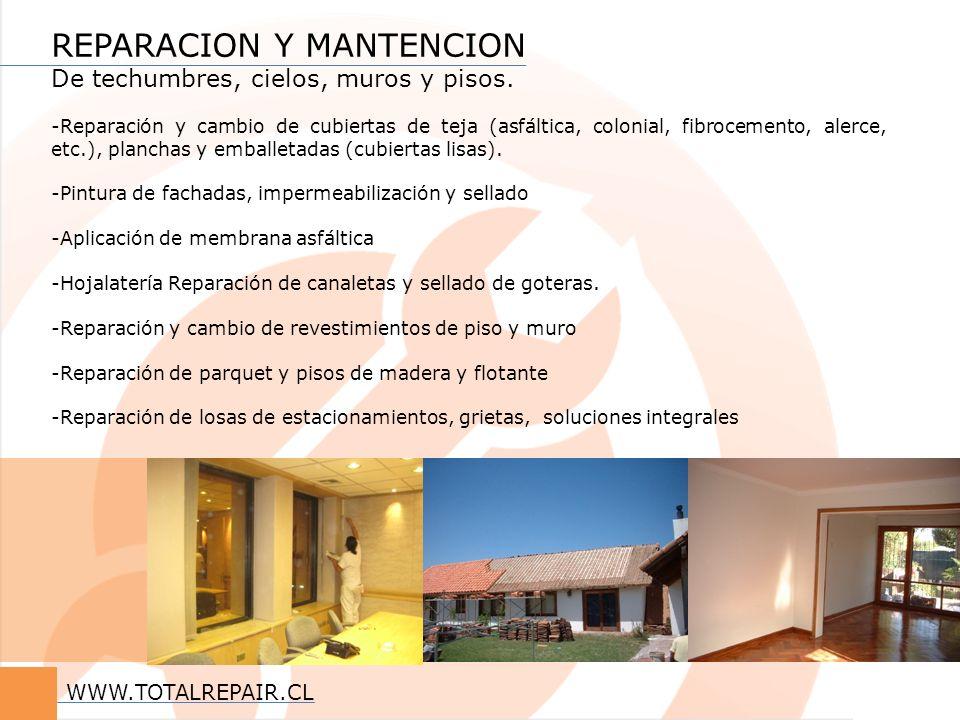 REPARACION Y MANTENCION