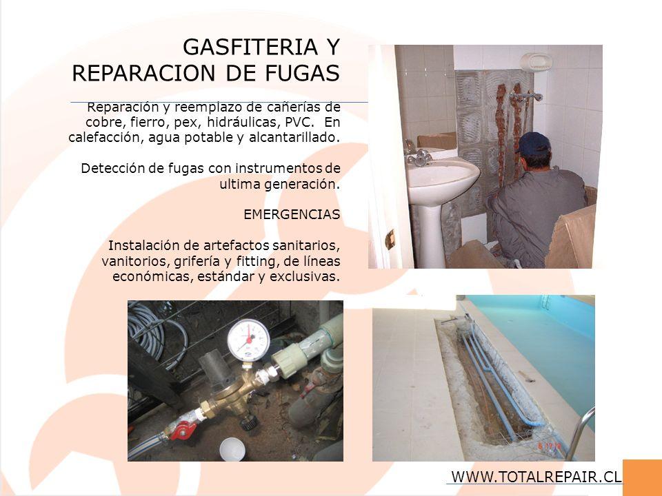 GASFITERIA Y REPARACION DE FUGAS