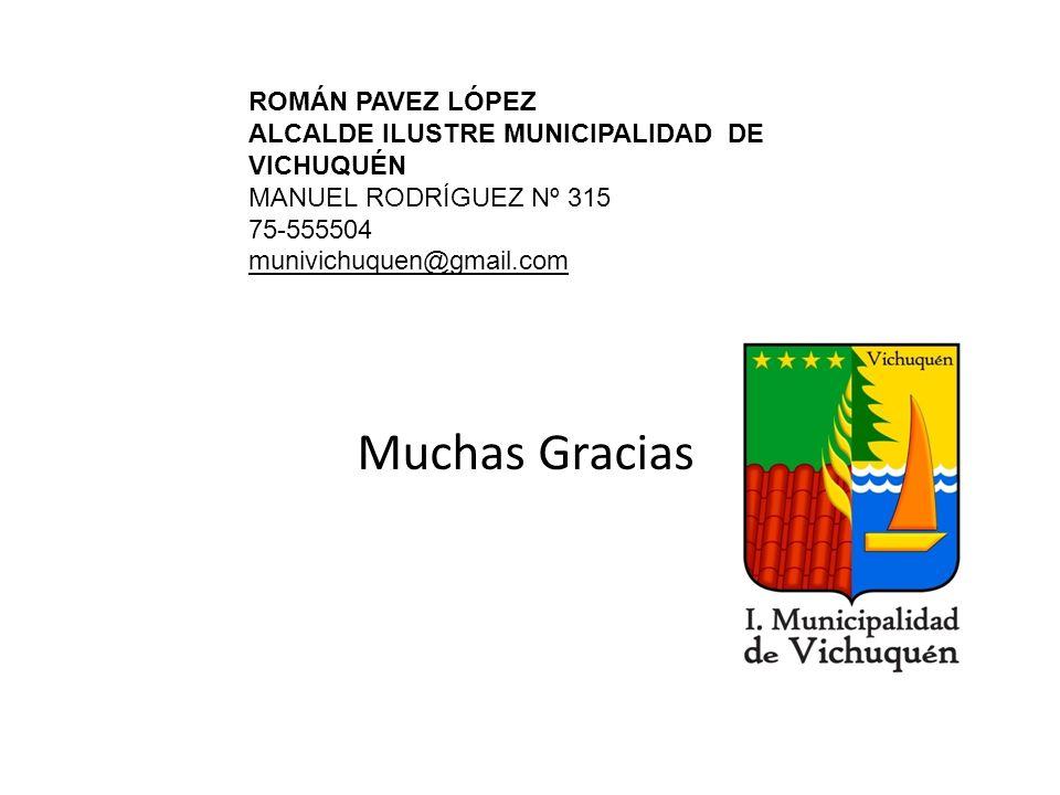 Muchas Gracias ROMÁN PAVEZ LÓPEZ