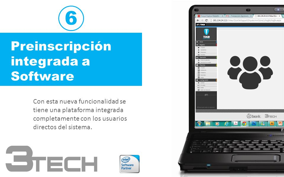 6 Preinscripción integrada a Software