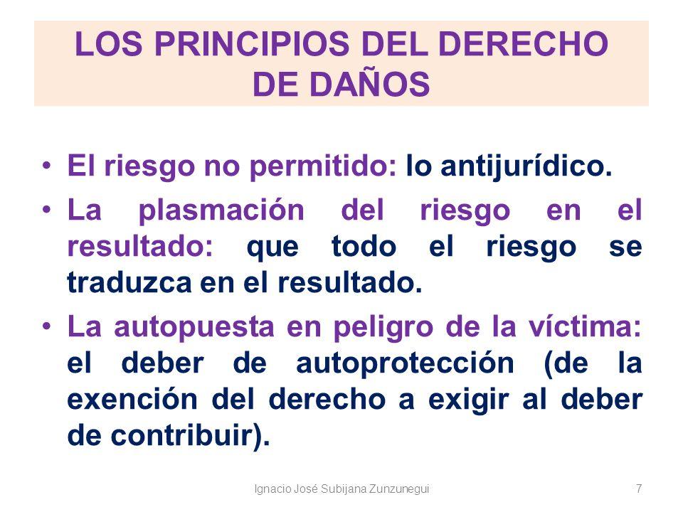 LOS PRINCIPIOS DEL DERECHO DE DAÑOS