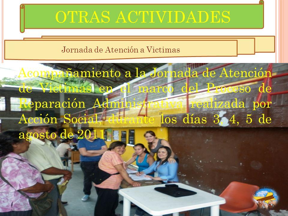 Jornada de Atención a Victimas