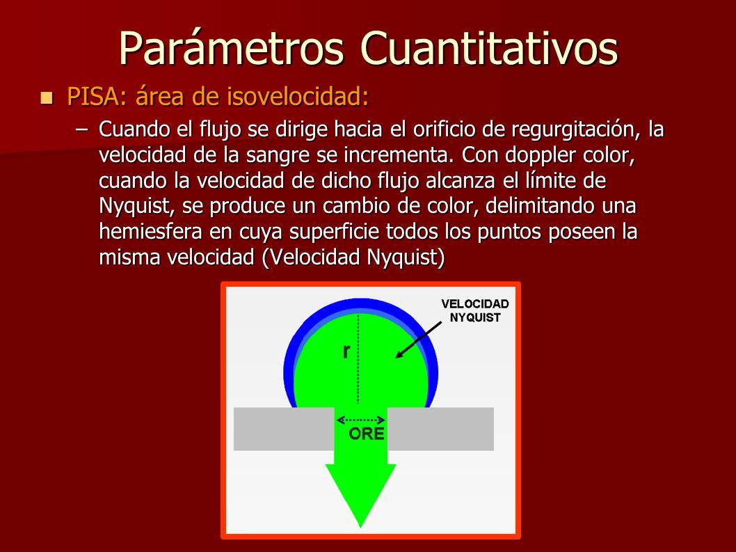 Parámetros Cuantitativos