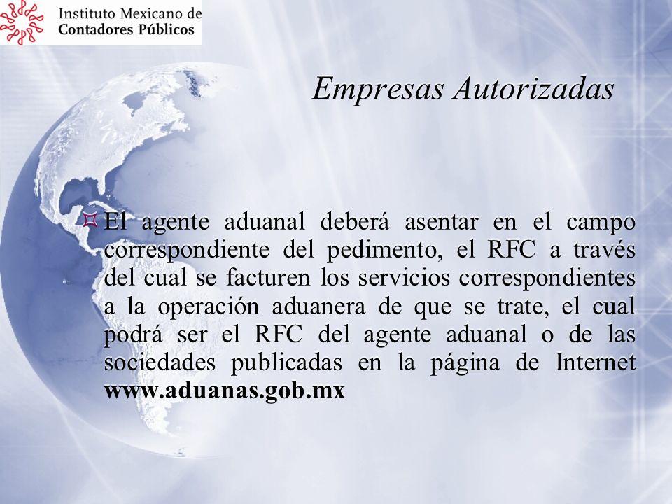 Empresas Autorizadas