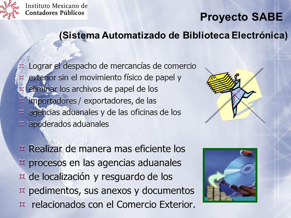 Proyecto SABE (Sistema Automatizado de Biblioteca Electrónica)