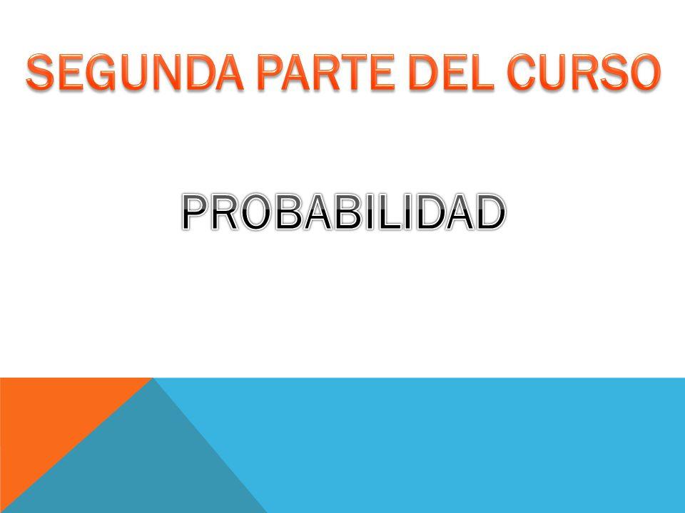 SEGUNDA PARTE DEL CURSO
