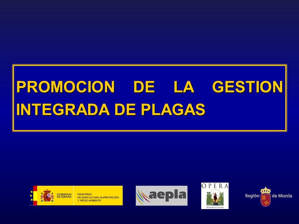 PROMOCION DE LA GESTION INTEGRADA DE PLAGAS