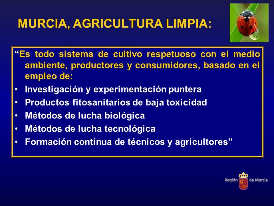 MURCIA, AGRICULTURA LIMPIA: