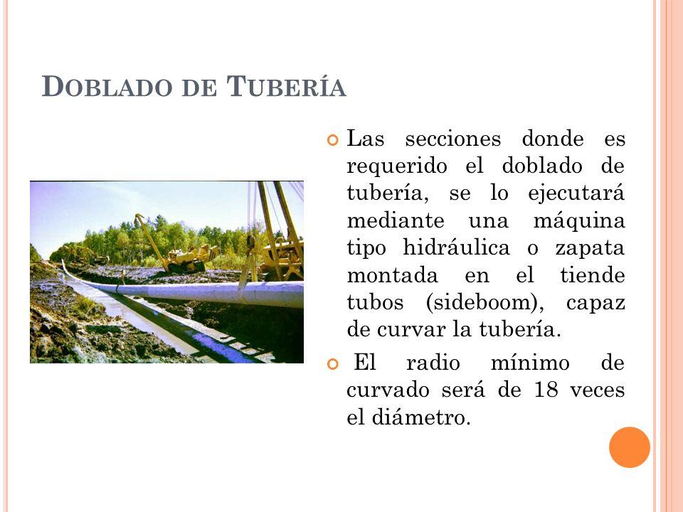 Doblado de Tubería