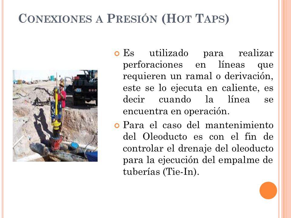 Conexiones a Presión (Hot Taps)