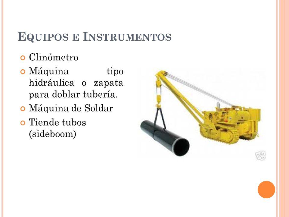 Equipos e Instrumentos
