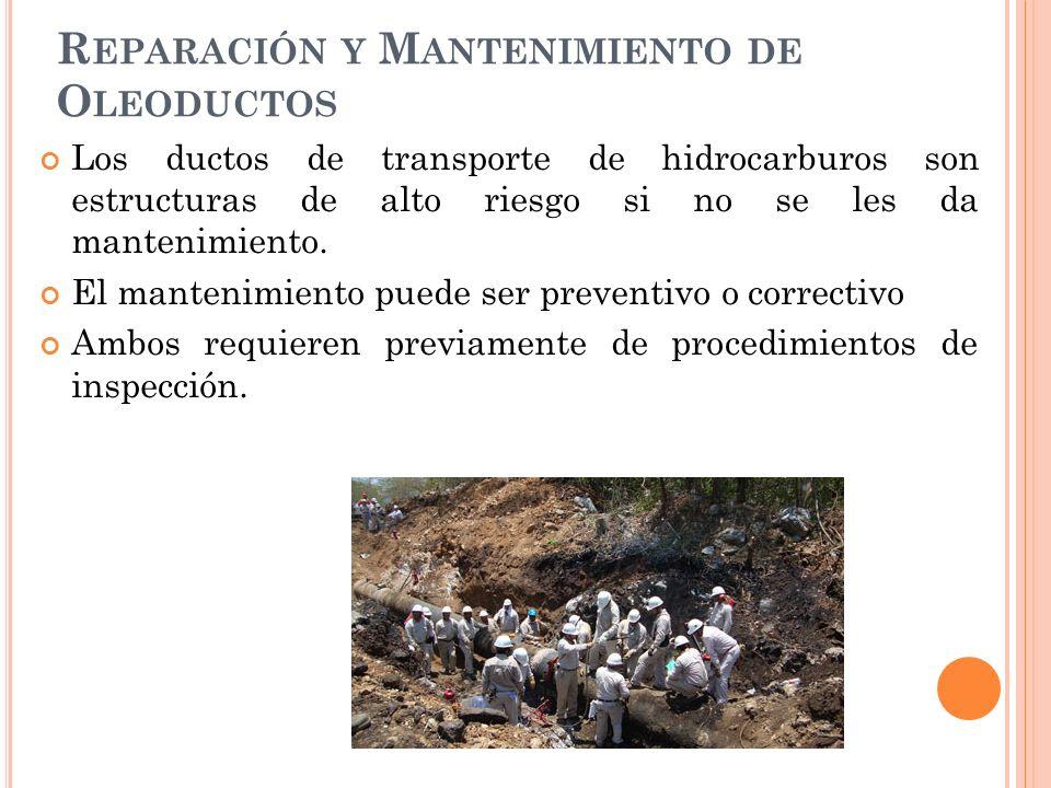 Reparación y Mantenimiento de Oleoductos