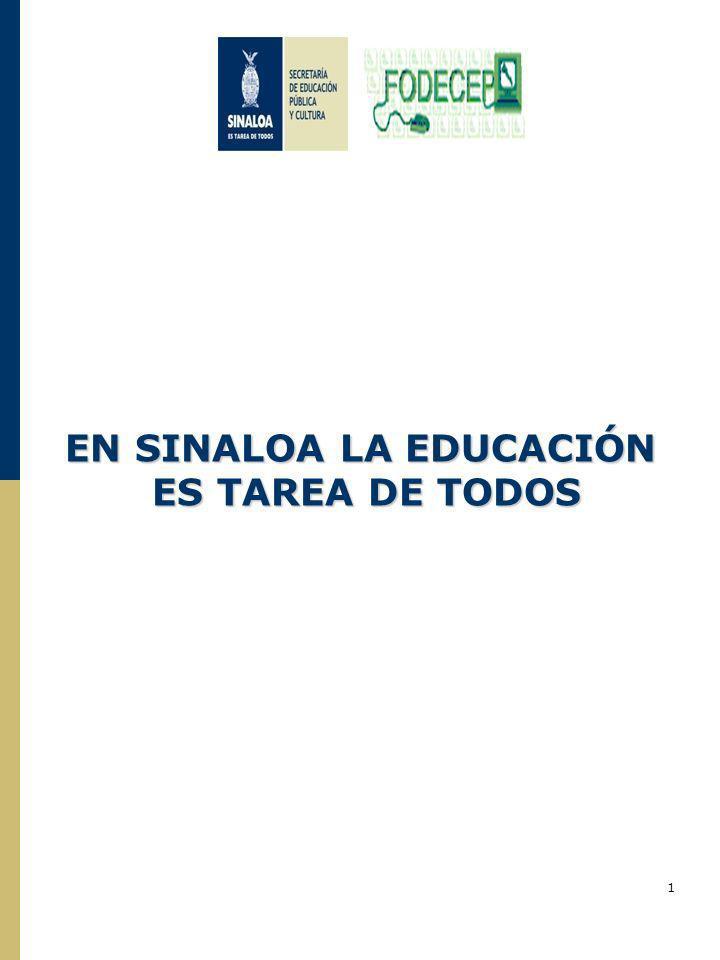 EN SINALOA LA EDUCACIÓN