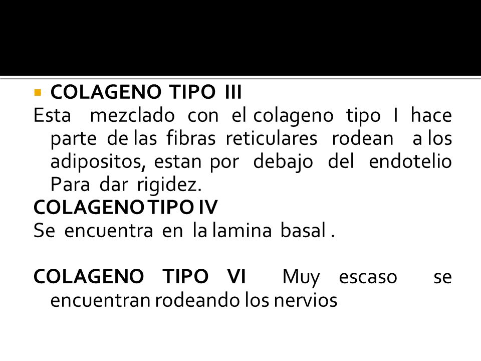 COLAGENO TIPO III