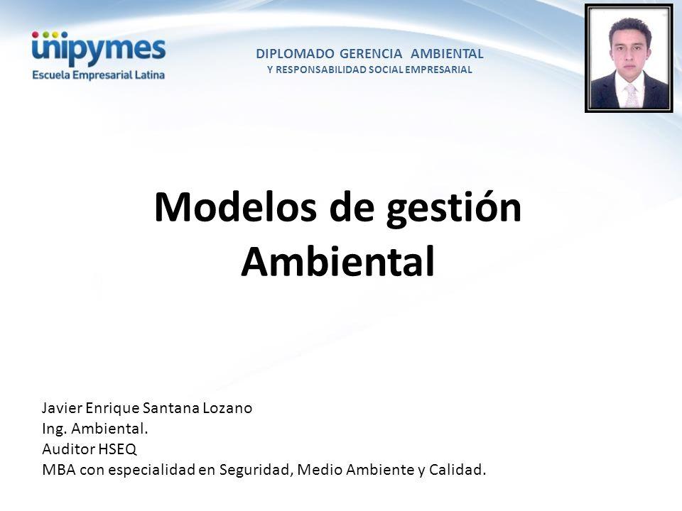Modelos de gestión Ambiental