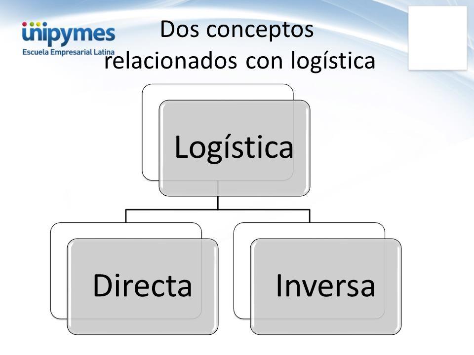 Dos conceptos relacionados con logística