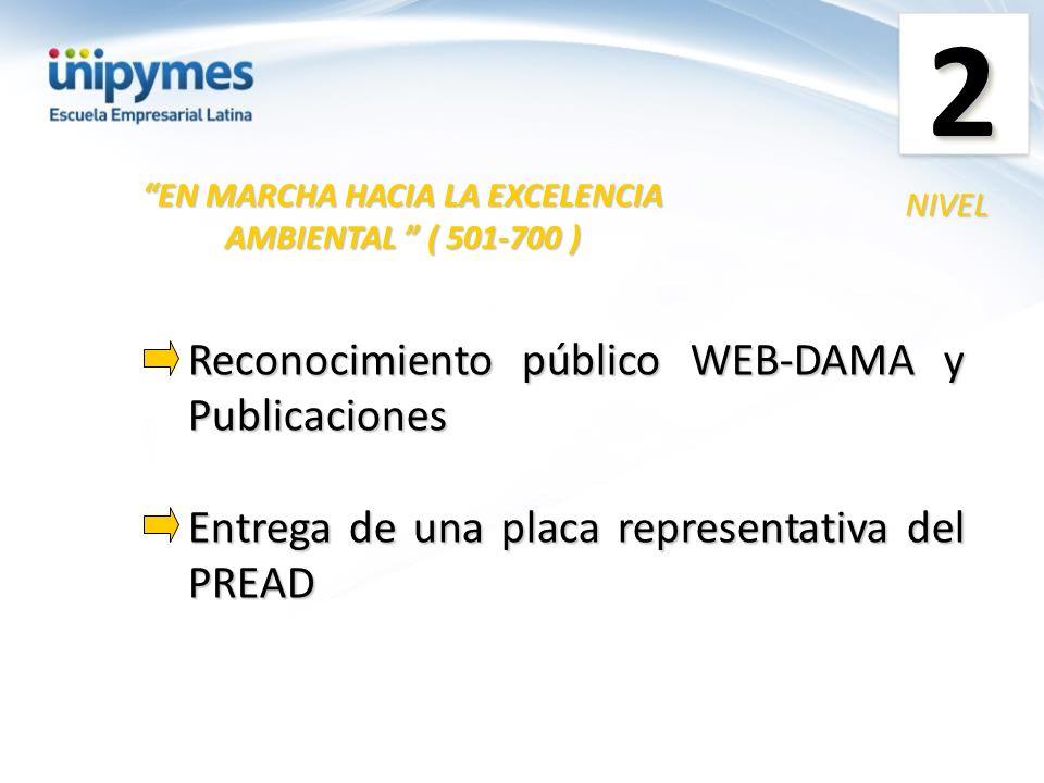 EN MARCHA HACIA LA EXCELENCIA AMBIENTAL ( 501-700 )