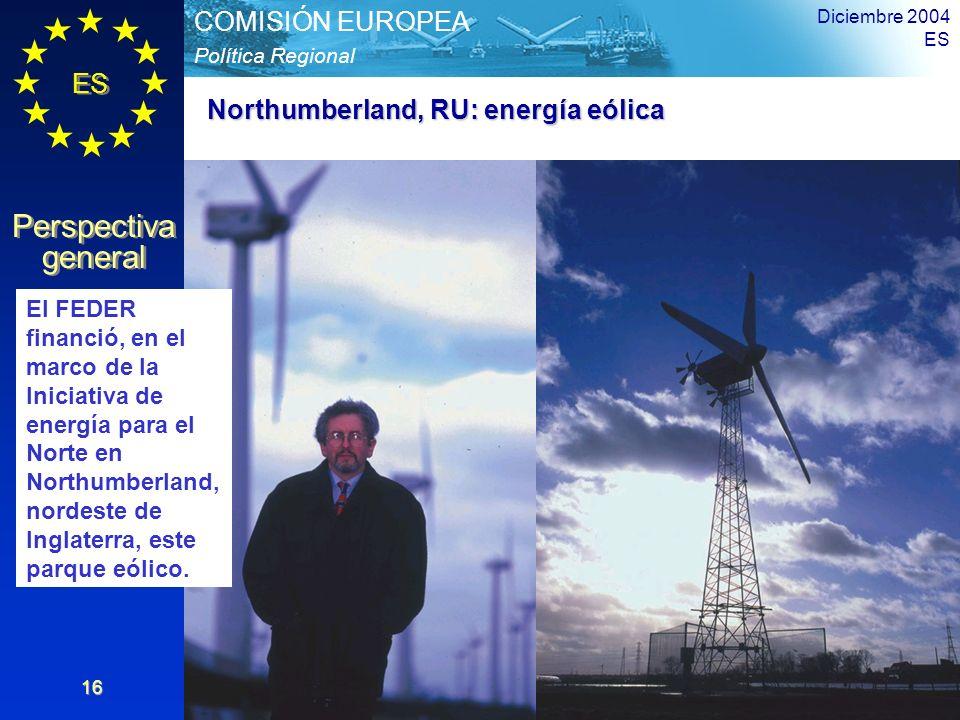 Northumberland, RU: energía eólica