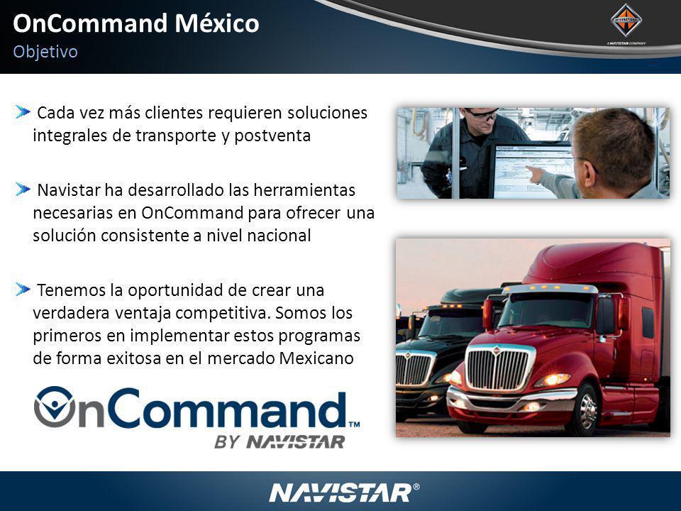 OnCommand México Objetivo
