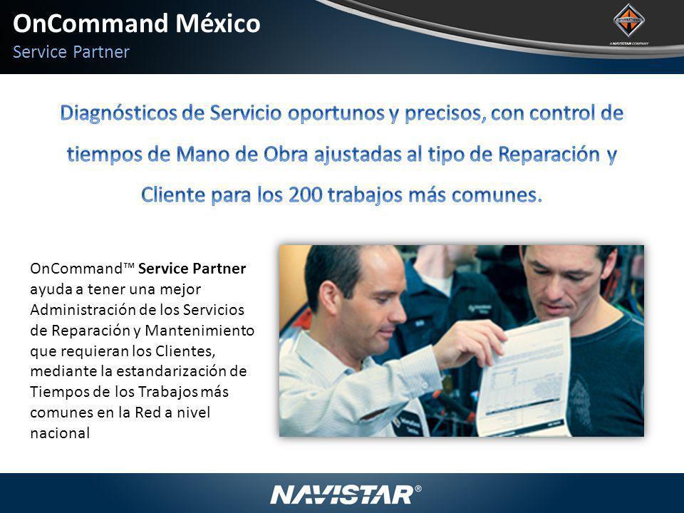 OnCommand México Service Partner.