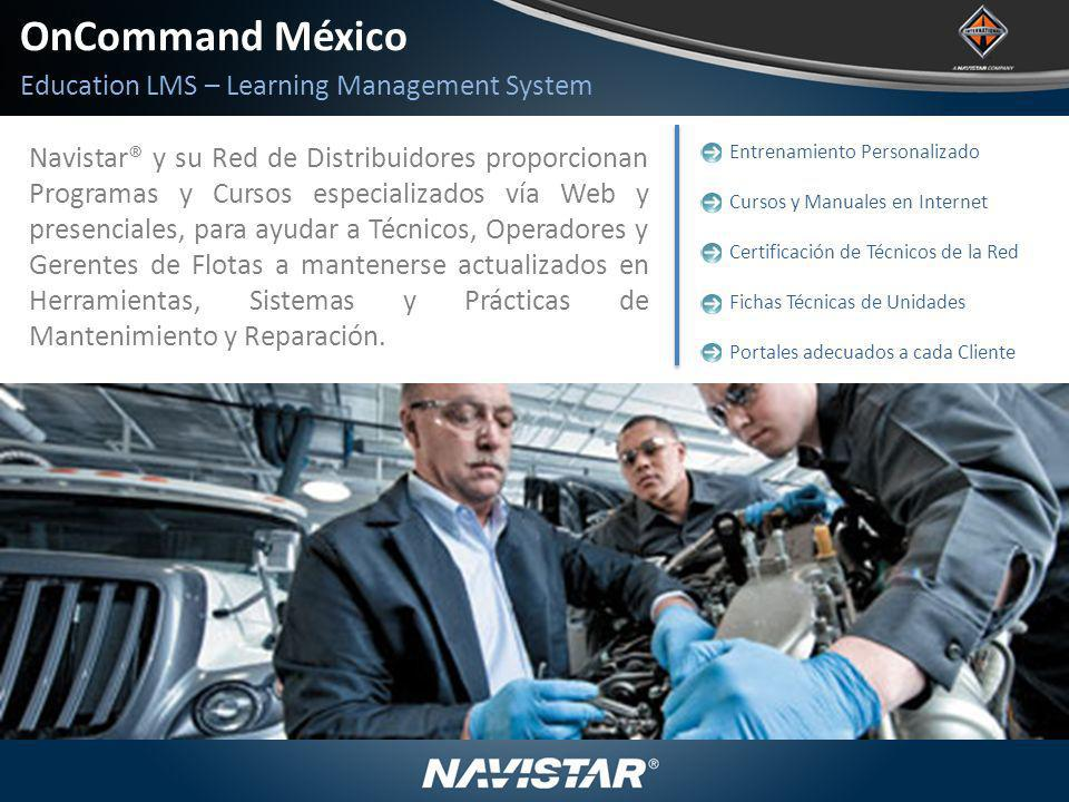 OnCommand México Education LMS – Learning Management System